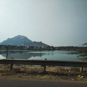 A Lake Along the Way - Bangalore Goa Road Trip