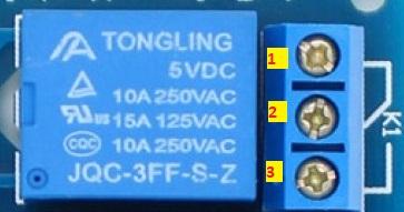 single relay module